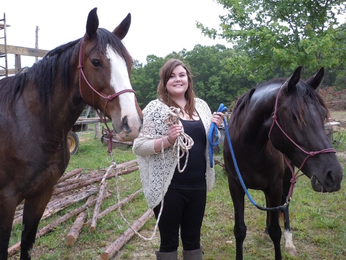 cassie and horses